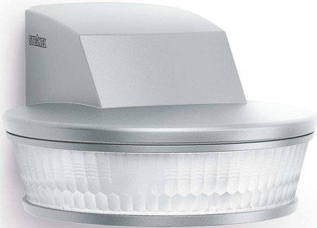 Steinel SensIQ S KNX Passive Infrared (PIR) Motion Sensor Wall Stainless Steel–Detectors (Passive Infrared (PIR) Sensor, 20–50°C, Stainless Steel, 74x 128x 114mm, 20m)