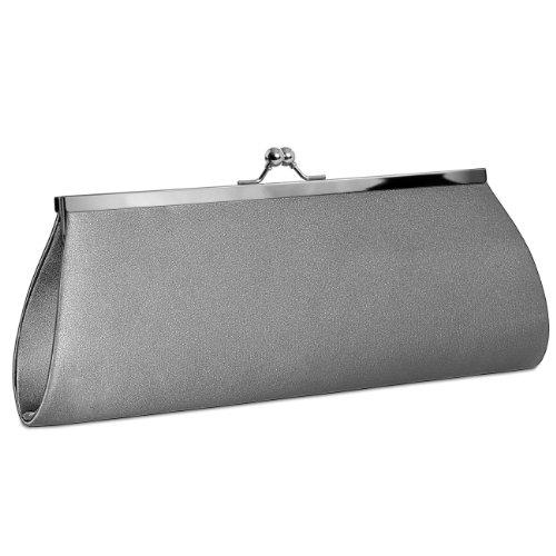 CASPAR Taschen & Accessoires, Poschette giorno donna grau
