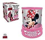 Kirchenkerze Akku DISNEY Minnie Maus Projektor in rosa - LR2250