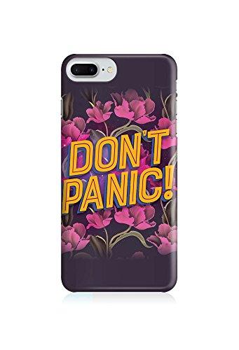COVER Statement Spruch Quote Dont panic Design Handy Hülle Case 3D-Druck Top-Qualität kratzfest Apple iPhone 8 Plus