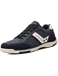 AX BOXING Mens Casual Shoes Lace-up Shoes Loafer Flats Classic Non-Slip Walking Gym Shoe Trainers Sport Men's Sneakers Size 41-46