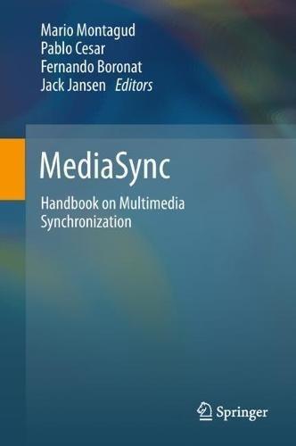 MediaSync: Handbook on Multimedia Synchronization