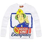 Sam el bombero Chicos Camiseta mangas largas 2016 Collection - Blanco