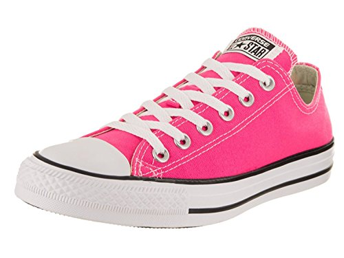 Converse Unisex Chuck Taylor All Star Low Top Pink Pow Sneakers - 8 B(M) US Women/6 D(M) US Men (Womens Arch Low)