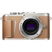 Olympus PEN E-PL9 16 MP Compact System Camera with Electric Zoom, 4K Movies, 3-Inch Display and Wi-Fi - Brown