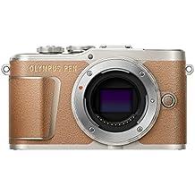 Olympus PEN E-PL9 - Cámara de sistema compacto de 16 MP (pantalla de 7.6 cm, zoom eléctrico, películas 4K, WiFi) marrón