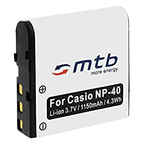 Batterie NP-40 pour Casio Exilim EX-Z40, Z50, Z55, Z57, Z100, Z200, Z300...voir liste