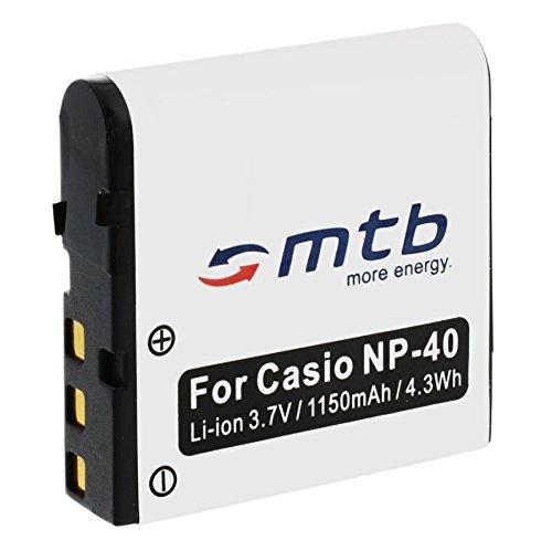 Ersatz-Akku NP-40 für Casio Exilim EX-Z200, Z300, Z400, Z450, Z500, Z600... (siehe Liste)