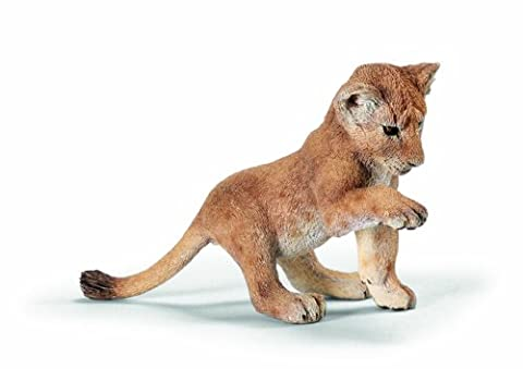 Schleich Lion cub, Playing
