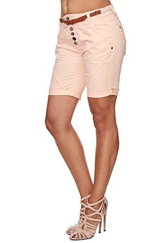 SUBLEVEL Damen D6055Z60379 Chino Shorts Pastel Orange