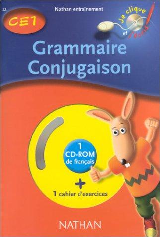Grammaire Conjugaison CE1. Avec CD-ROM par Maurice Obadia