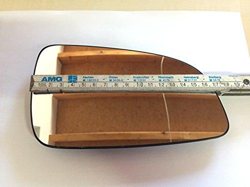 DAPA 1004175 Spiegelglas für den Aussenspiegel Beifahrerseite Rechts Beheizt