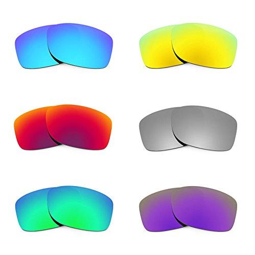 Revant Ersatzlinsen für Oakley Jupiter Squared Polarisiert 6 Paar Kombipack K026