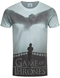 Game of Thrones Official T Shirt Sublimation Poster Drogon & Tyrion All Sizes
