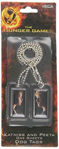 Games Fire Katniss Hunger Catching Kostüm - Feuer fangen Katniss und Peeta ein Blatt Dog Tag - Die Hunger Games