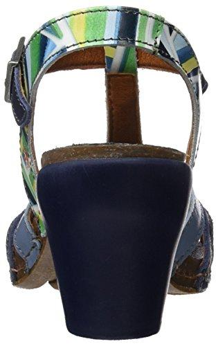 Art 0239 Fantasy i Feel, Sandali T-Strap Donna Multicolore (Stripes)