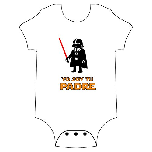 YO SOY TU PADRE - body - BEBÉ - STAR WARS - darth vader - GAMBA TARON