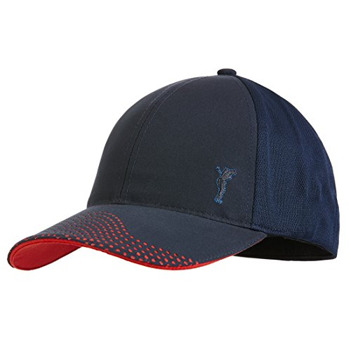 golfino-breathable-mens-golf-cap-with-patterned-peak-blue-l