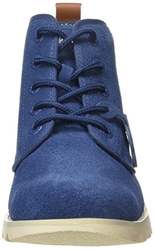 Kickers Kick Hisuma Sued Am Herren Kurzschaft Stiefel Blue (Blue)