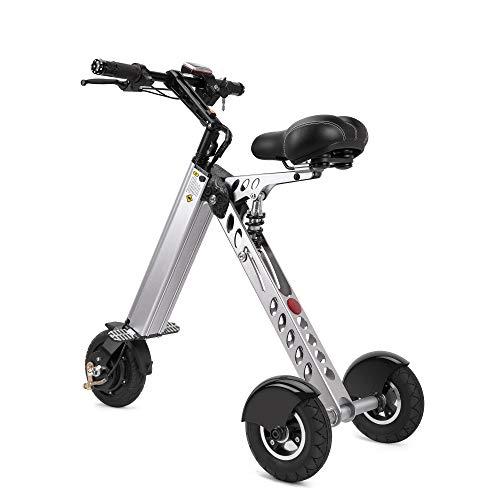 TopMate. ES30 Scooter eléctrico Mini Triciclo | Interruptor de Llave 3 Engranajes | Eje Trasero más Largo | para Asistencia...