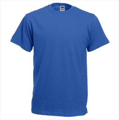 Fruit of the Loom - T-Shirt 'Heavy Cotton' L,Royal