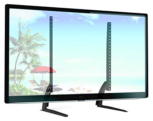 3d Led Tv 32 Lg (RICOO TV Ständer Universal FS502 Standfuß Halterung Höhenverstellbar Fernsehstand LCD LED Fernseher Stand Flachbildschirm Möbel Tischständer VESA 400x400 600x400)