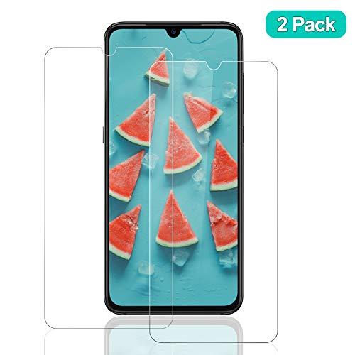 SNUNGPHIR® Xiaomi Mi 9 Cristal Templado para Protector Pantalla [2 uds] Alta Definición Transparente 9H Dureza Resistente a Arañazos Anti-Huella Digital Libre de Burbujas Protección Ojos