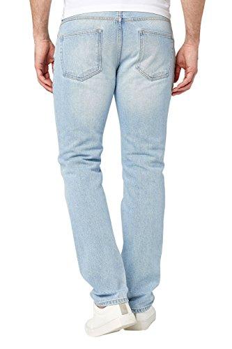 next Uomo Jeans Vestibilità Slim Bleach Wash