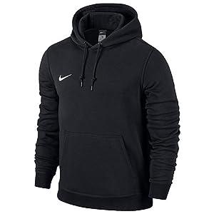 Nike Herren Kapuzenpullover Team Club, Schwarz (Black/White), M