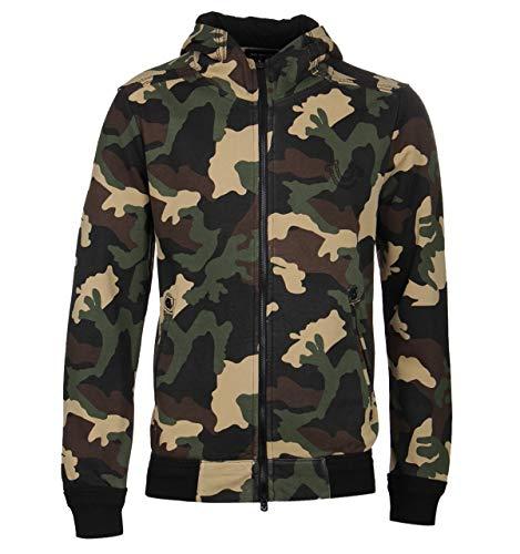 True Religion Camo Zip Front Hoodie - EXTRA Large Front-zip-hoodie