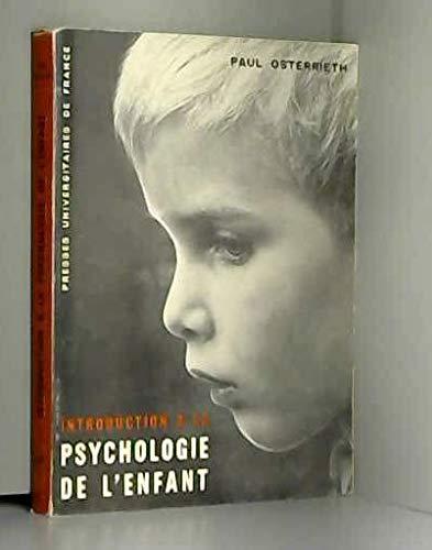 Introduction à la psychologie de l'enfant