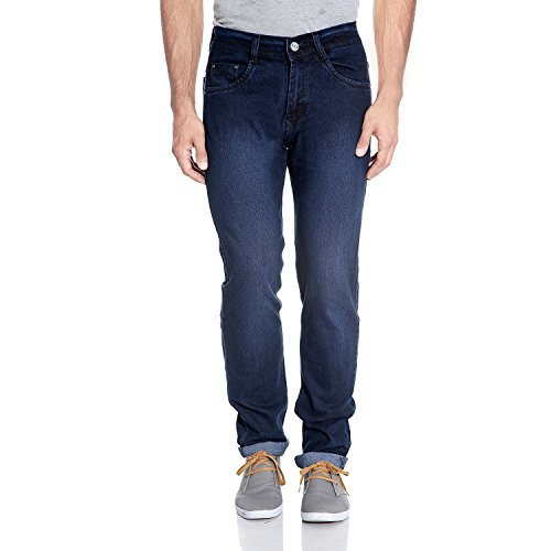 FlyJohn-Blue-Lycra-Cotton-Jeans