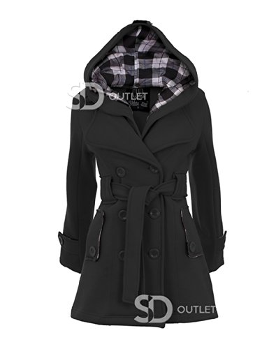SD - Manteau -  Femme Noir