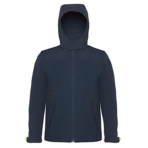 B&C Collection Herren Modern Kapuzenpullover Gr. 42, navy (Parka Hardwear Mountain Insulated)