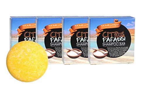Quattro pezzi di shampoo solido - per capelli grassi