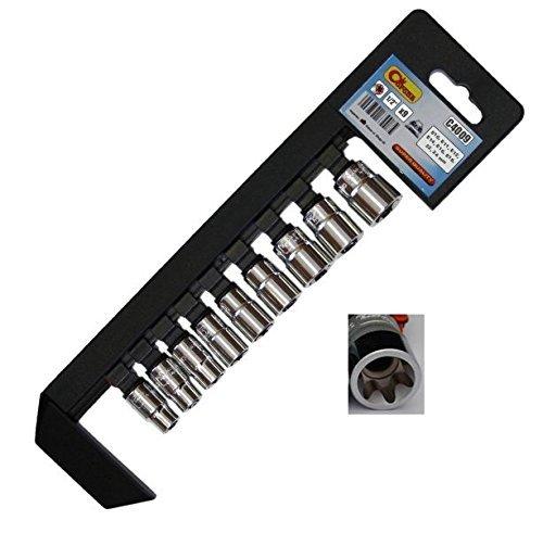 corona-torx-kurz-1-51-cm-socket-set-9-pcs-e10-e24-crv-stahl-cor-c4009