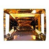 0,76 Karat Octagon-Schliff, 5 x 4 mm, ungeschliff, naturbelassen, ungeschliffen, Violett
