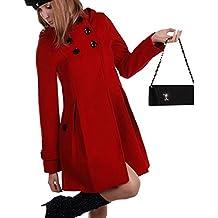 reputable site 97d0f 3f5d4 Suchergebnis auf Amazon.de für: roter mantel damen