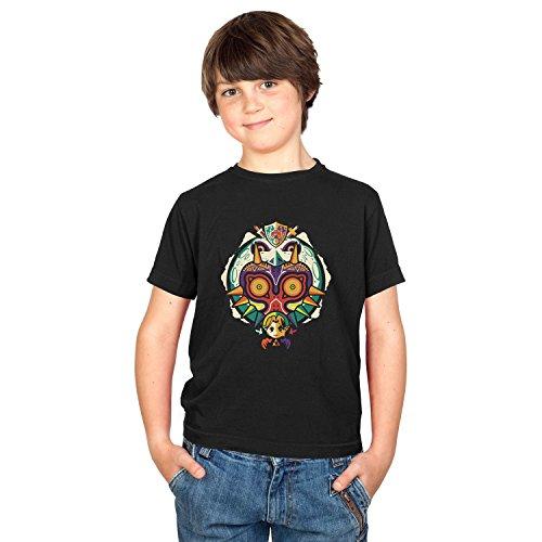TEXLAB - Legendary Moon - Kinder T-Shirt, Größe M, (Ideen Zelda Aus Kostüm Link)