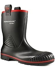 Dunlop Acifort Rocker noir fourrure doublure toute securite - A442033.FL