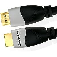 Ivuna Advanced alta velocitá 3m (3 Metri) HDMI su HDMI cavo con Ethernet (Ultima versione 2.0/1.4a, 21 Gbps) 1080p 4K2K ARC UHD FULL HD LCD ORO PLASMA & LED TVs e supporta anche 3D per XBOX ONE SONY PS4 SKY HD VIRGIN BOX DVD Blu-ray Nintendo Wii U - Trova i prezzi più bassi su tvhomecinemaprezzi.eu