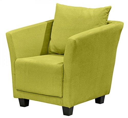MIRO Sessel Einzelsessel Wohnsessel Polstersessel Polsterstuhl Grün