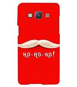PrintVisa Christmas Qoutes Design 3D Hard Polycarbonate Designer Back Case Cover for Samsung Galaxy A3