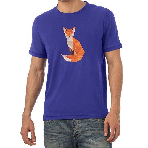 Texlab T-Shirt - Collo a U - Maniche Corte - Uomo Marine