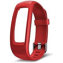 Pennyninis 1PC Fitness Tracker Monitor Correa De Reemplazo Pulsera Para Reloj Inteligente ID107 Plus