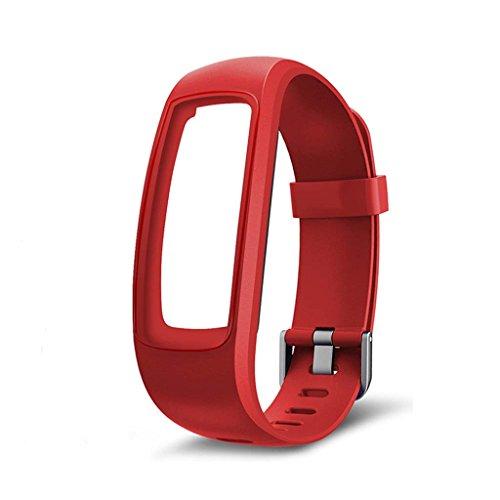 Suweqi Ersatz Armband Uhrenarmbänder - Fitness Tracker Monitor Ersatzband Armband Für ID107 Plus Smart Watch
