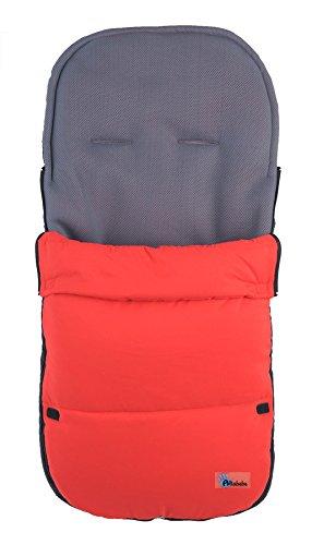 Altabebe AL2400 - 05 - Saco de abrigo para carrito, color rojo