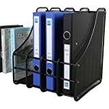 VIDISA 4 Layer Metal mesh Magazine Document Holder File Rack