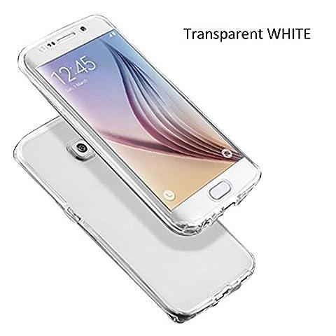 Vorne Hinten TPU Rundumschutz Cover Handyhülle für Samsung Galaxy S6