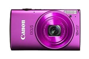 Canon IXUS 255 HS Digitalkamera (12,1 Megapixel, 10-fach opt. Zoom, 7,5 cm (3 Zoll) Display, Full-HD, bildstabilisiert) pink